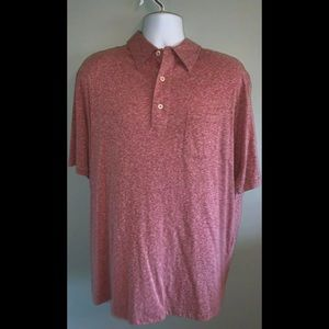 NWT Men's X-Large Cremieux Classic SS Polo Cherry